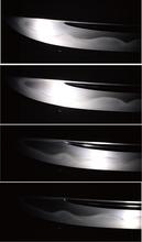 日本刀の反射特性の計測結果