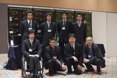 計測自動制御学会2008で発表したメンバー