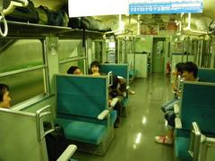 8月24日 上田から新潟へ深夜電車で移動