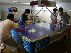 8月25日 ゼミナール対抗エアホッケー大会