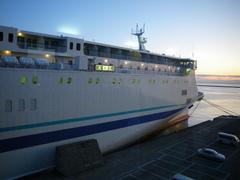 8月26日 小樽港到着