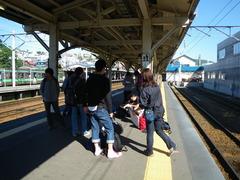 8月26日 長い電車旅が始まる(小樽駅)