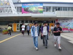 8月26日 旭川で途中下車(電車待ち)