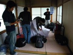 8月26日 網走のライダーハウス「民宿ランプ」に宿泊