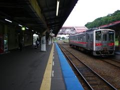 8月27日 網走から知床斜里まで電車移動