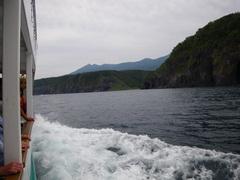8月29日 遊覧船で知床岬へ
