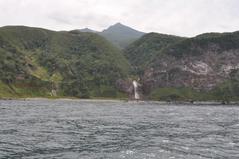 8月29日 カムイワッカの滝