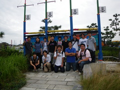 8月31日 新潟港に到着