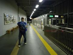 8月31日 上田駅到着(7泊8日のゼミ合宿が無事に終わりました)