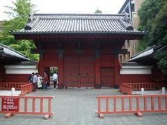 東京大学の赤門を見学