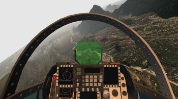 パイロットの視界