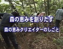 森の恵みを創りだす ~森の恵みクリエイターのしごと~