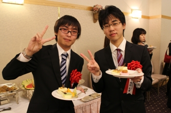 他の受賞者と松田さん