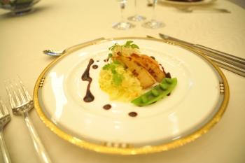「List de Couple」の一皿として作られた料理
