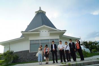 今回の計測に参加した長野大学の研究グループ