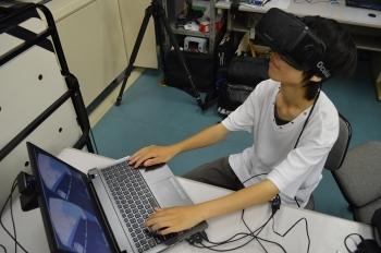 3Dヘッドマウントディスプレイ(3Dメガネ)を用いた没入空間体験システム