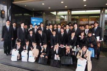 参加した学生たち