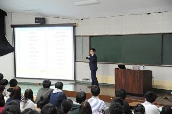 長野県警察本部の方による講話の様子