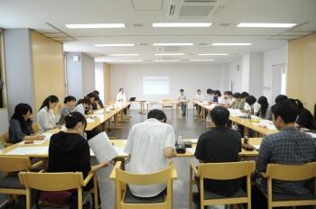 「東信地区発達障がいサポートネット」の学習会の様子