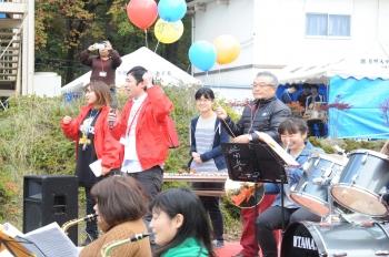 開祭式の様子(大学祭実行委員長によるあいさつ)