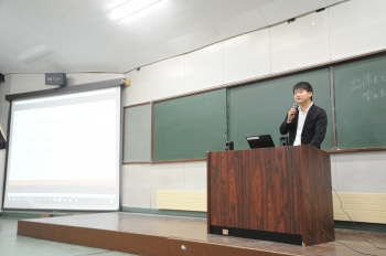 環境ツーリズム学部 4年 小林潤さん