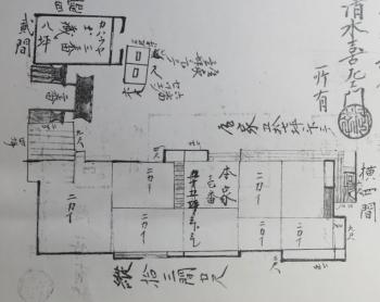 建屋図面の例