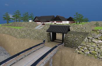 小諸城CG復元システム