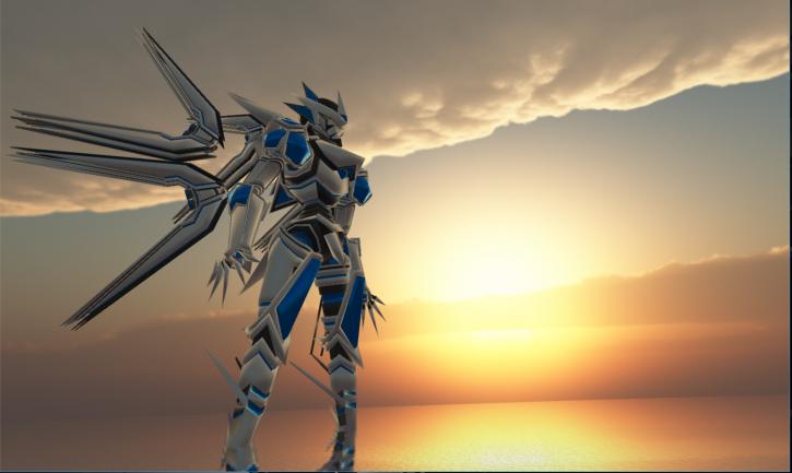 新デザインのロボット